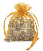GOLD ORGANZA BAG 3X4