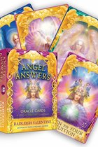 ANGEL ANSWERS ORACLE CARDS ( 44-CARD DECK & GUIDEBOOK ) - NEW EDITION DISCONTUNED @ NL 1-13-20