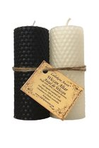 WICCAN ALTAR CANDLE SET BEESWAX